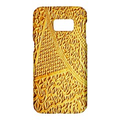 Gold Pattern Samsung Galaxy S7 Hardshell Case