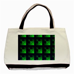 Fractal Basic Tote Bag by BangZart