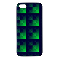 Fractal Apple Iphone 5 Premium Hardshell Case by BangZart