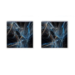 Fractal Tangled Minds Cufflinks (square) by BangZart