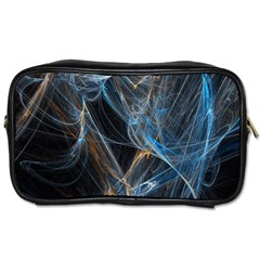 Fractal Tangled Minds Toiletries Bags by BangZart
