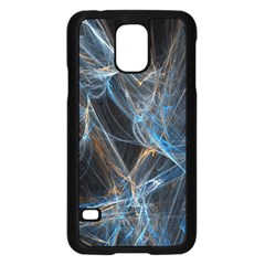 Fractal Tangled Minds Samsung Galaxy S5 Case (black) by BangZart