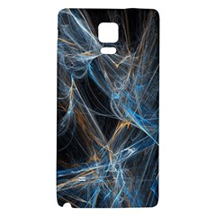 Fractal Tangled Minds Galaxy Note 4 Back Case by BangZart