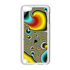 Fractals Random Bluray Apple Ipod Touch 5 Case (white) by BangZart