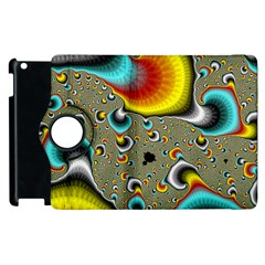 Fractals Random Bluray Apple Ipad 3/4 Flip 360 Case