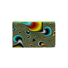 Fractals Random Bluray Cosmetic Bag (xs)