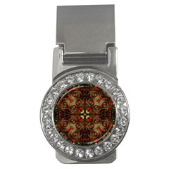 Fractal Kaleidoscope Money Clips (cz)  by BangZart