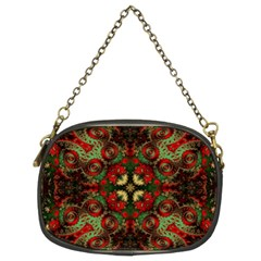 Fractal Kaleidoscope Chain Purses (two Sides)  by BangZart