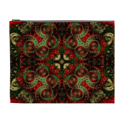 Fractal Kaleidoscope Cosmetic Bag (xl) by BangZart