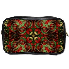 Fractal Kaleidoscope Toiletries Bags