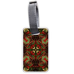 Fractal Kaleidoscope Luggage Tags (one Side)