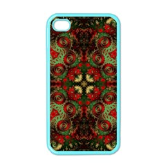 Fractal Kaleidoscope Apple Iphone 4 Case (color) by BangZart