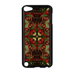 Fractal Kaleidoscope Apple Ipod Touch 5 Case (black) by BangZart