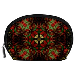 Fractal Kaleidoscope Accessory Pouches (large)