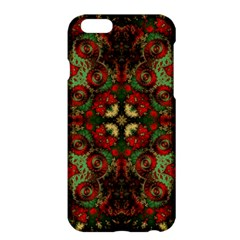 Fractal Kaleidoscope Apple Iphone 6 Plus/6s Plus Hardshell Case by BangZart