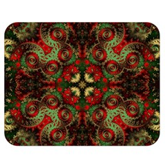 Fractal Kaleidoscope Double Sided Flano Blanket (medium)  by BangZart