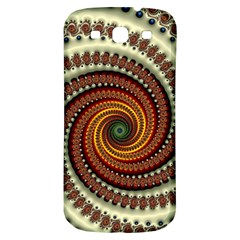 Fractal Pattern Samsung Galaxy S3 S Iii Classic Hardshell Back Case by BangZart