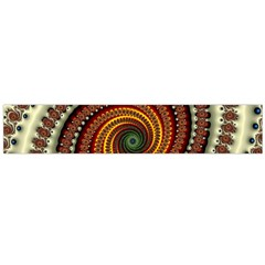 Fractal Pattern Flano Scarf (large) by BangZart
