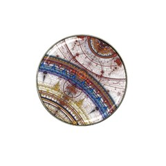 Fractal Circles Hat Clip Ball Marker by BangZart
