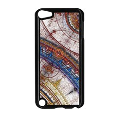 Fractal Circles Apple Ipod Touch 5 Case (black) by BangZart