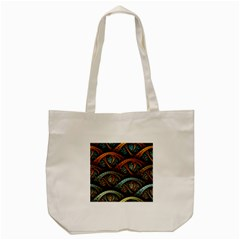Fractal Art Pattern Flower Art Background Clored Tote Bag (cream) by BangZart