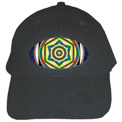 Flower Of Life Universal Mandala Black Cap by BangZart