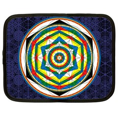 Flower Of Life Universal Mandala Netbook Case (xl)
