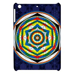 Flower Of Life Universal Mandala Apple Ipad Mini Hardshell Case