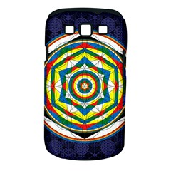 Flower Of Life Universal Mandala Samsung Galaxy S Iii Classic Hardshell Case (pc+silicone) by BangZart