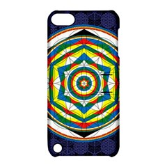 Flower Of Life Universal Mandala Apple Ipod Touch 5 Hardshell Case With Stand