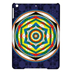 Flower Of Life Universal Mandala Ipad Air Hardshell Cases by BangZart