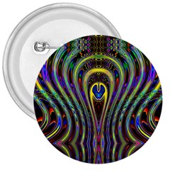 Curves Color Abstract 3  Buttons by BangZart
