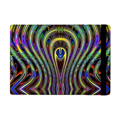 Curves Color Abstract Apple Ipad Mini Flip Case