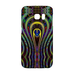 Curves Color Abstract Galaxy S6 Edge by BangZart