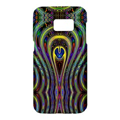 Curves Color Abstract Samsung Galaxy S7 Hardshell Case