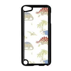 Dinosaur Art Pattern Apple Ipod Touch 5 Case (black) by BangZart