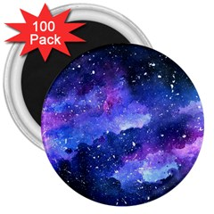 Galaxy 3  Magnets (100 Pack) by Kathrinlegg