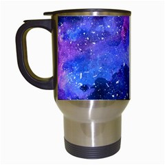 Galaxy Travel Mugs (white) by Kathrinlegg