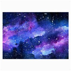 Galaxy Large Glasses Cloth (2 Side) by Kathrinlegg