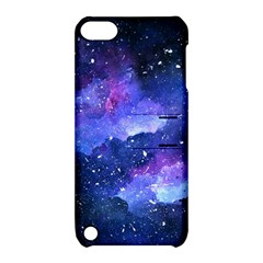 Galaxy Apple Ipod Touch 5 Hardshell Case With Stand by Kathrinlegg