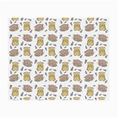 Cute Hamster Pattern Small Glasses Cloth
