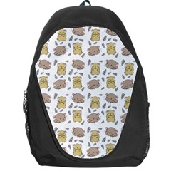 Cute Hamster Pattern Backpack Bag