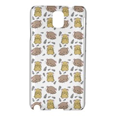Cute Hamster Pattern Samsung Galaxy Note 3 N9005 Hardshell Case