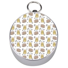 Cute Hamster Pattern Silver Compasses by BangZart