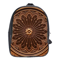 Decorative Antique Gold School Bags(large)  by BangZart