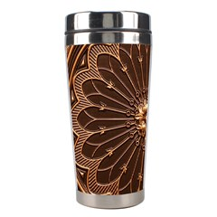 Decorative Antique Gold Stainless Steel Travel Tumblers by BangZart