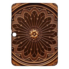 Decorative Antique Gold Samsung Galaxy Tab 3 (10 1 ) P5200 Hardshell Case  by BangZart