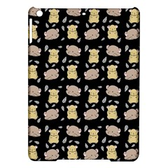 Cute Hamster Pattern Black Background Ipad Air Hardshell Cases by BangZart