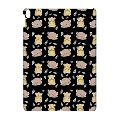 Cute Hamster Pattern Black Background Apple Ipad Pro 10 5   Hardshell Case by BangZart