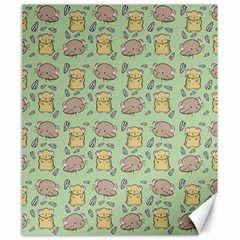 Cute Hamster Pattern Canvas 20  X 24   by BangZart